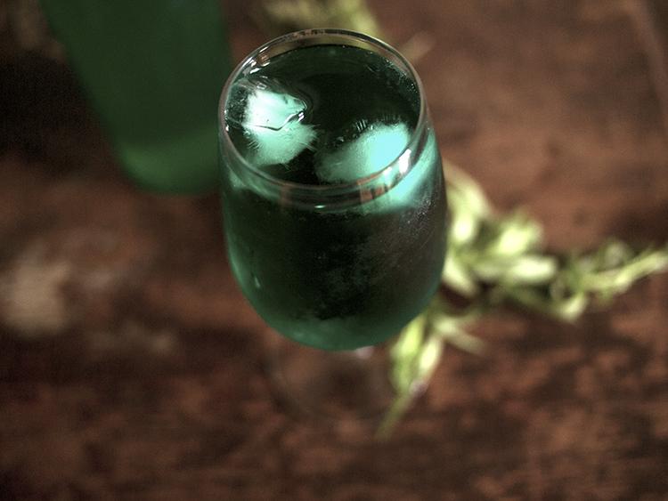Tarkhoun, ou boisson pétillante à l'estragon