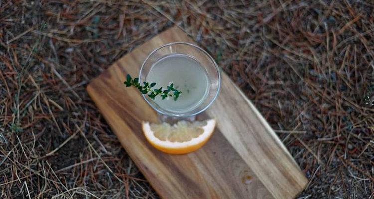 Le Blushing Kiss Martini