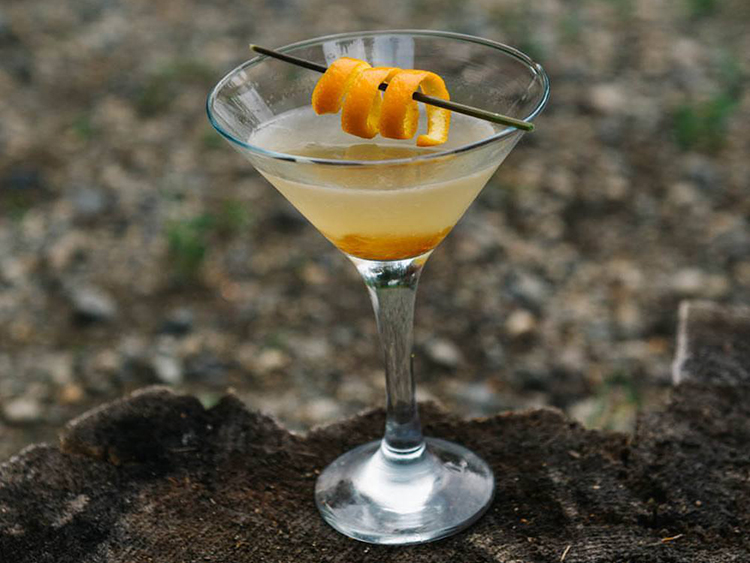 Le martini déjeuner