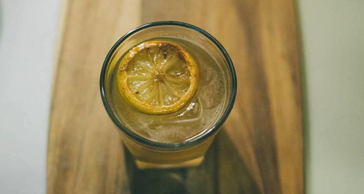 Le citron flambé
