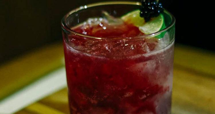 Cocktail d'automne no. 4 : Le Bramble